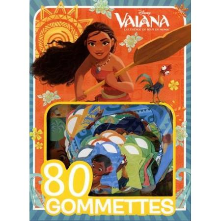 VAIANA - Mes 80 Gommettes (bleu)