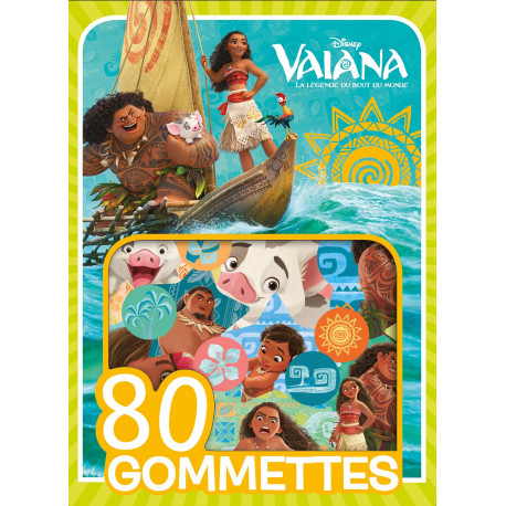 VAIANA - Mes 80 Gommettes (vert)
