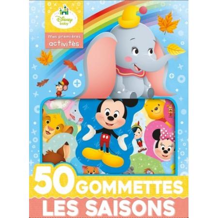Les saisons - 50 gommettes