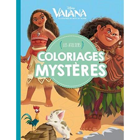 VAIANA - Les ateliers disney - Coloriages Mystère