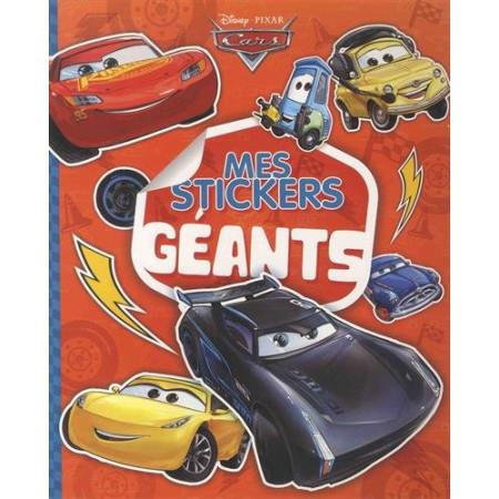 CARS - Mes stickers géants
