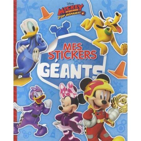 MICKEY TOP DÉPART ! - Mes stickers géants