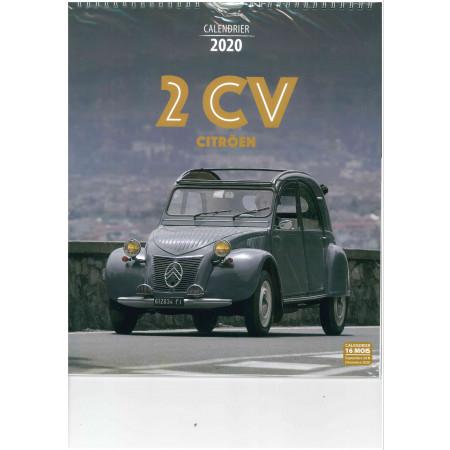 Calendrier 2020 - 2CV Citröen