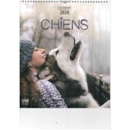 Calendrier 2020 - CHIENS