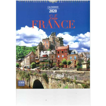 Calendrier 2020 - BELLE FRANCE