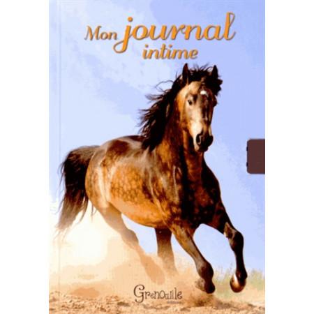 Mon journal intime - Cheval ciel bleu