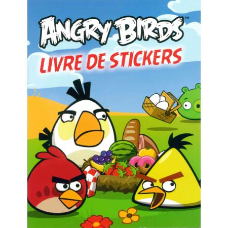 Angry Birds Livre de stickers