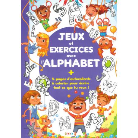 Jeux et exercices avec alphabet
