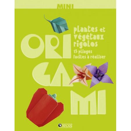 Mini Origami - Plantes et végétaux rigolos