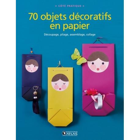70 objets décoratifs en papier