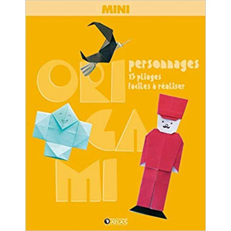 Mini origami personnages