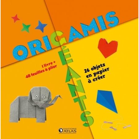 Origamis géants - 26 objets en papier à créer