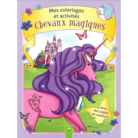 Chevaux magiques Coloriages et activités