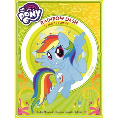 Jeunesse My Little Pony Rainbow Dash La Meteo S Affole 9782