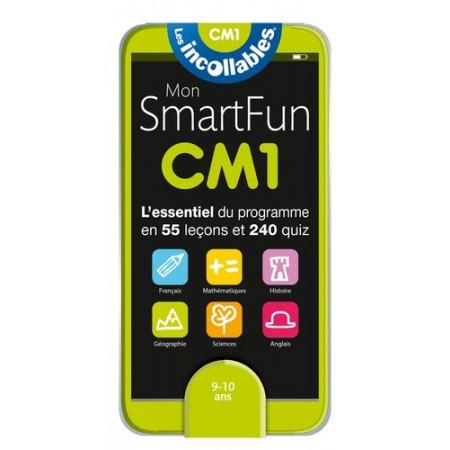 Mon SmartFun CM1 - L'essentiel du programme en 55 leçons et 240 quiz
