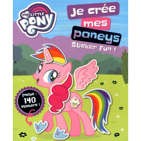 Je crée mes poneys sticker fun !