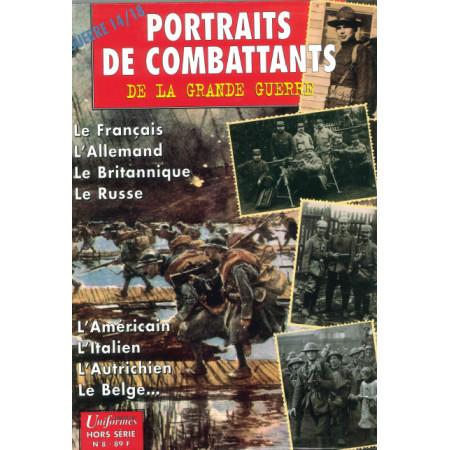 Portraits de combattants Gazette des uniformes HS N° 8