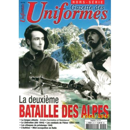 La 2 ème bataille des Alpes Gazette des Uniformes HS N° 20