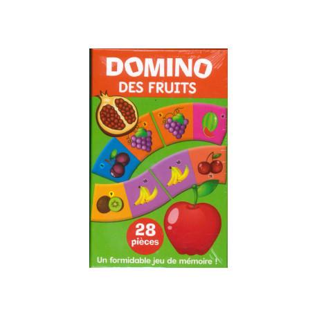 Boîte Domino des fruits