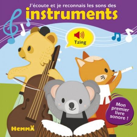 J'écoute et je reconnais les sons des instruments