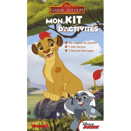 Mon kit d'activités La garde du Roi Lion