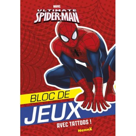 Bloc de jeux Ultimate Spider-Man avec tattoos !