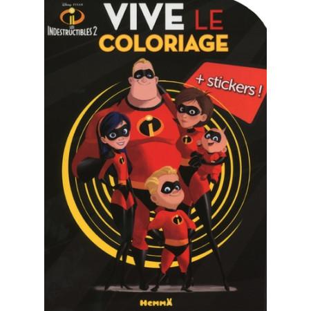 Disney Les Indestructibles 2 - Vive le coloriage !