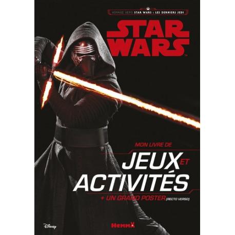 Mon livre de jeux et activités Star Wars
