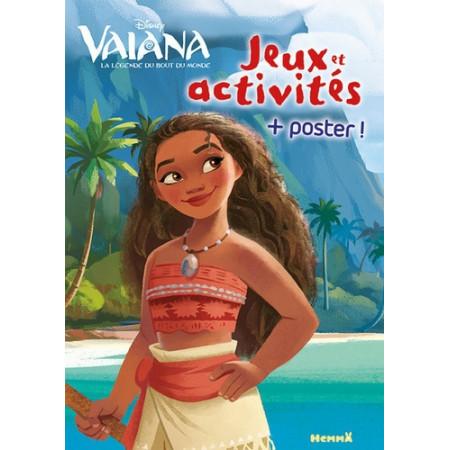 Jeux et activités Vaiana - Avec un poster