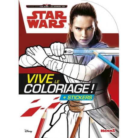 Vive le coloriage ! Star Wars : Les derniers Jedi
