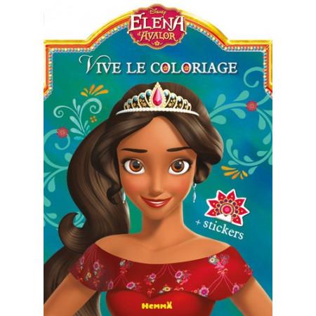 Vive le coloriage Elena d'Avalor