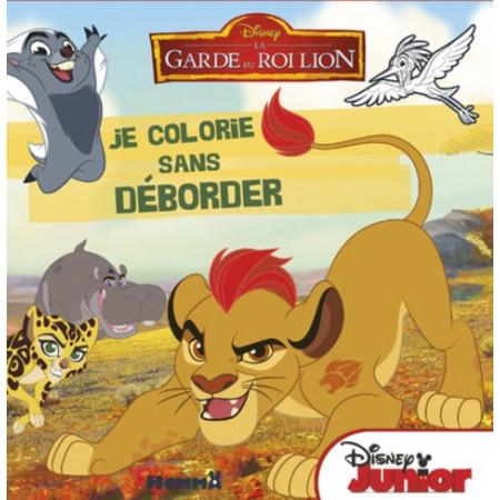 Je colorie sans déborder - La garde du roi Lion