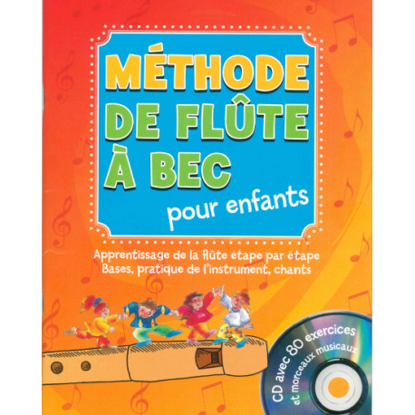 Méthode de flûte à bec pour enfants