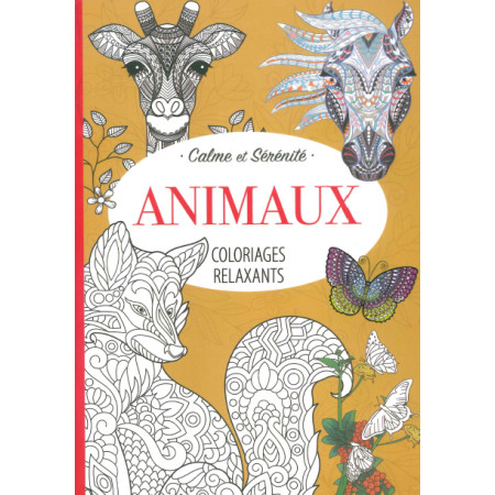 Coloriages relaxants Animaux