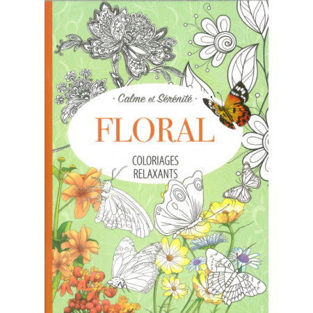 Coloriages relaxants Floral