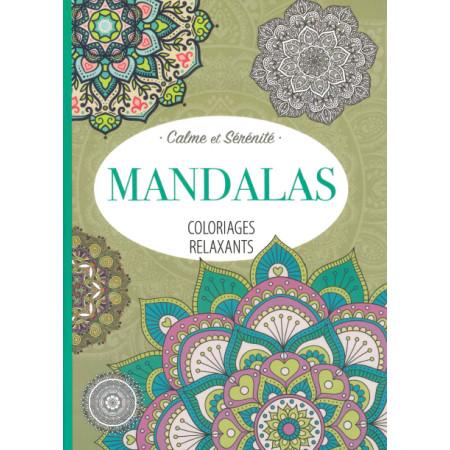 Coloriages relaxants Mandalas