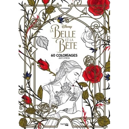 La Belle et la Bête - 60 coloriages anti-stress