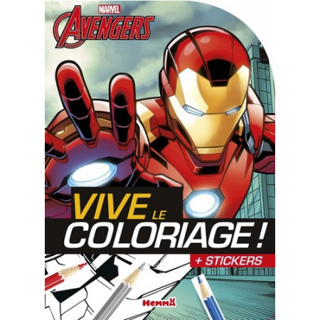 Marvel Avengers Iron man - + stickers