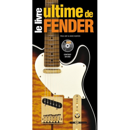 Le livre ultime de Fender avec 1 DVD