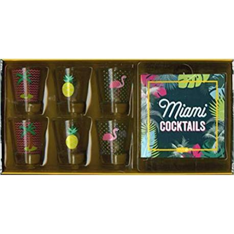 Miami cocktails - Avec 6 verres à shot