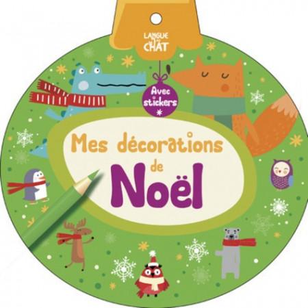 Mes décorations de Noël (vert) avec stickers