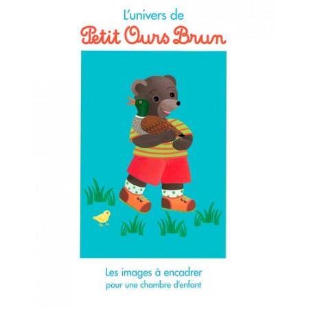 Les images à encadrer Petit Ours brun au manège