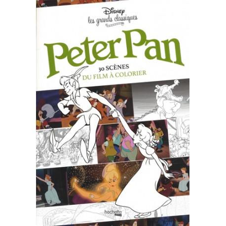 Peter Pan - 30 scènes du film à colorier