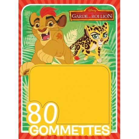 La garde du Roi Lion - 80 gommettes