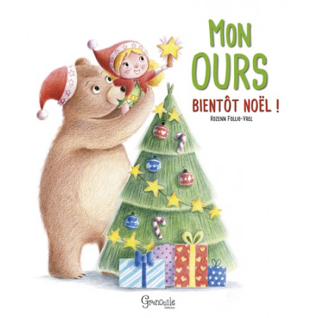 Mon ours, bientot Noël