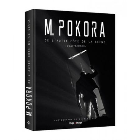 M Pokora de l'autre côté de la scène