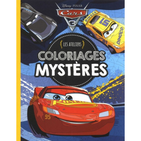 Cars - Les ateliers Coloriages mystères