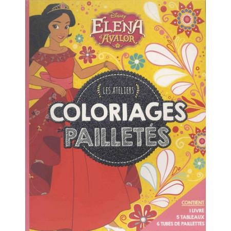Coloriages pailletés Elena d'Avalor