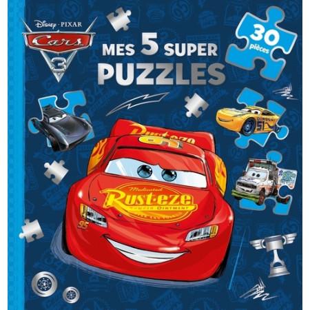 Cars 3 - Mes 5 super puzzles