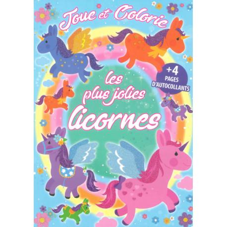 Joue et colorie Les plus jolies licornes